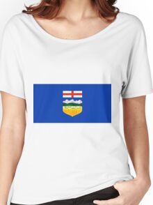 Alberta Flag Women's Relaxed Fit T-Shirt