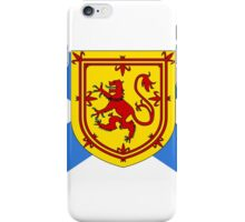 Nova Scotia Flag iPhone Case/Skin