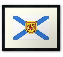 Nova Scotia Flag Framed Print