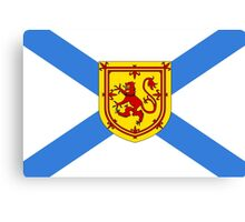 Nova Scotia Flag Canvas Print