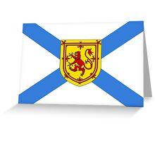 Nova Scotia Flag Greeting Card