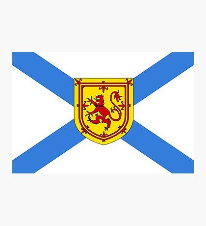 Nova Scotia Flag Photographic Print