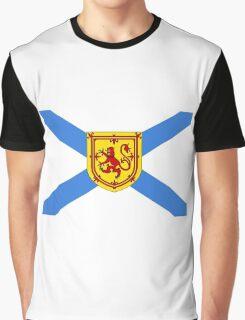Nova Scotia Flag Graphic T-Shirt
