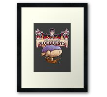 D&D SideQuests Framed Print