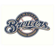 Milwaukee Brewers  Art Print