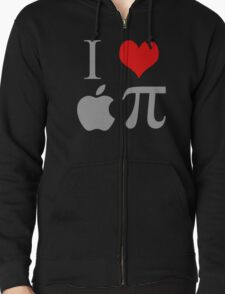 I Love Apple Pie Funny Geek Pi T-Shirt