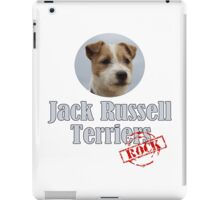 Jack Russell Terriers Rock! iPad Case/Skin