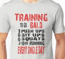 Training To Go Bald Saitama Unisex T-Shirt