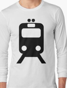 Train Symbol Long Sleeve T-Shirt