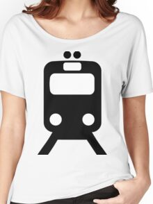 Train Symbol Women's Relaxed Fit T-Shirt