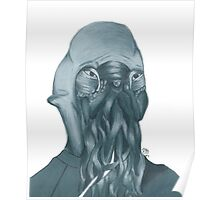 "How ""Ood"" - Hand-drawn Poster"
