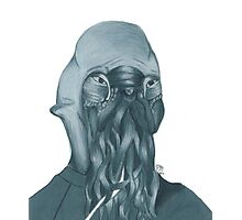 "How ""Ood"" - Hand-drawn Photographic Print"