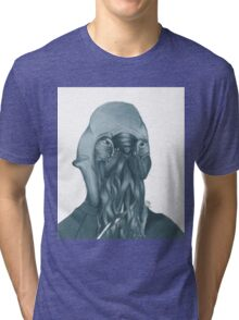 "How ""Ood"" - Hand-drawn Tri-blend T-Shirt"