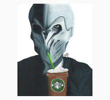 Silence in the Starbucks - Hand-drawn Unisex T-Shirt