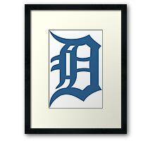 Detroit Tigers Framed Print