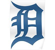 Detroit Tigers Poster