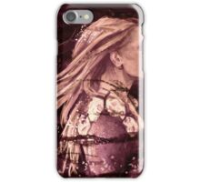 Darkness has a way iPhone Case/Skin