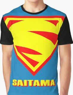 S for SAITAMA Graphic T-Shirt