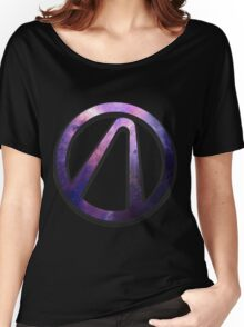 Borderlands 2 vault logo - galaxy Women's Relaxed Fit T-Shirt