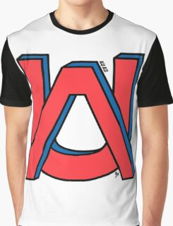 NY Rangers red&blue Graphic T-Shirt