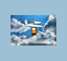 A digital painting of the Aerial Screw, flying machine Unisex T-Shirt