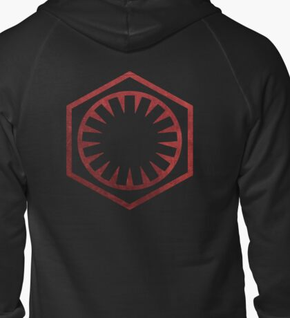 The First Order Zipped Hoodie