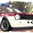 VW Polo Saloon  by kiranfarrow