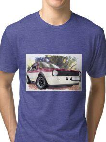 VW Polo Saloon  Tri-blend T-Shirt
