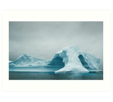 Arched Iceberg Art Print