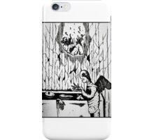 Bathtub Disaster  iPhone Case/Skin