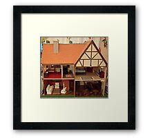 Dolls House Framed Print