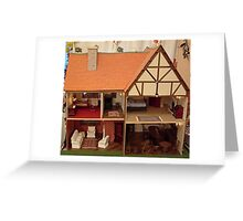 Dolls House Greeting Card