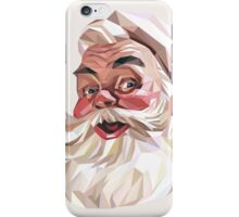 Coca-Cola Santa Claus Low Poly iPhone Case/Skin