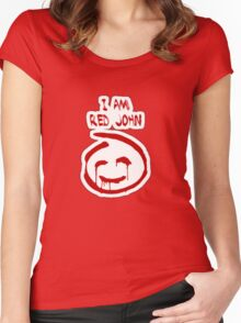 The Mentalist- Red John Women's Fitted Scoop T-Shirt