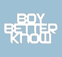 Boy Better Know T-Shirt One Piece - Short Sleeve