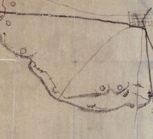 Civil War Maps 0595 Macon Geo 1864 Sticker