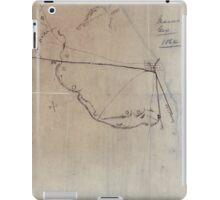 Civil War Maps 0595 Macon Geo 1864 iPad Case/Skin