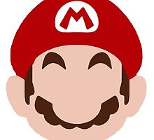 Super Mario face by lauranonce