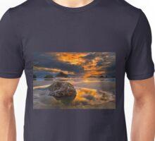 Sunset at Bandon, Oregon Unisex T-Shirt