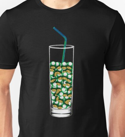 Mario Up Energy Drink glass Unisex T-Shirt