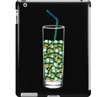 Mario Up Energy Drink glass iPad Case/Skin