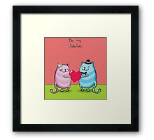 Love Valentine Framed Print