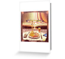 fries - m. a. weisse Greeting Card