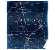 Civil War Maps 0441 Georgia Inverted Poster