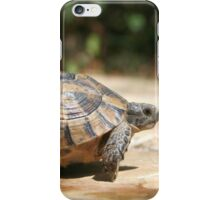 Sideview of A Walking Turkish Tortoise iPhone Case/Skin
