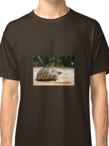 Sideview of A Walking Turkish Tortoise Classic T-Shirt