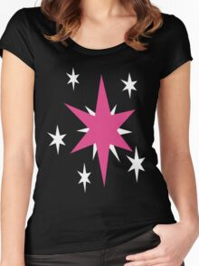 My little Pony - Twilight Sparkle Cutie Mark Women's Fitted Scoop T-Shirt