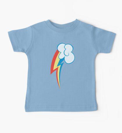 My little Pony - Rainbow Dash Cutie Mark Baby Tee