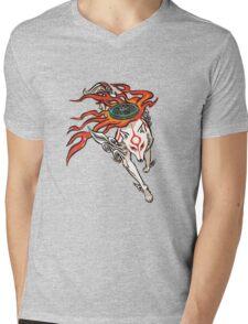Okami - Amaterasu (ALT) Mens V-Neck T-Shirt