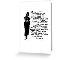 Little Britain - Vicky Pollard Greeting Card